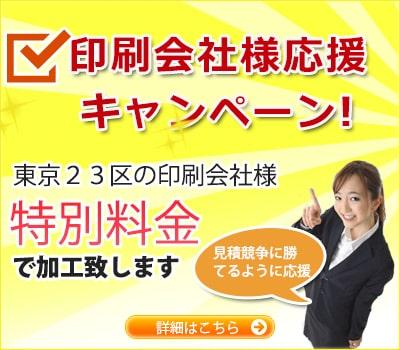 東京23区キャンペーン実施